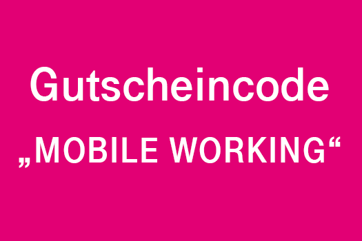 Gutscheincode Mobile Working
