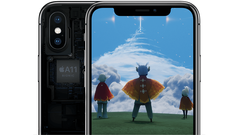 iPhone X – intelligent durch A11 Bionic