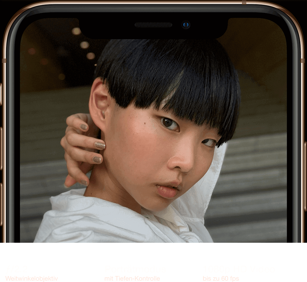 iPhone XS – TrueDepth Kamera