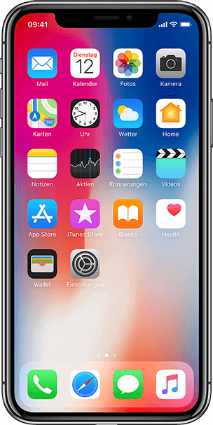 iPhone X – mit Retina Display