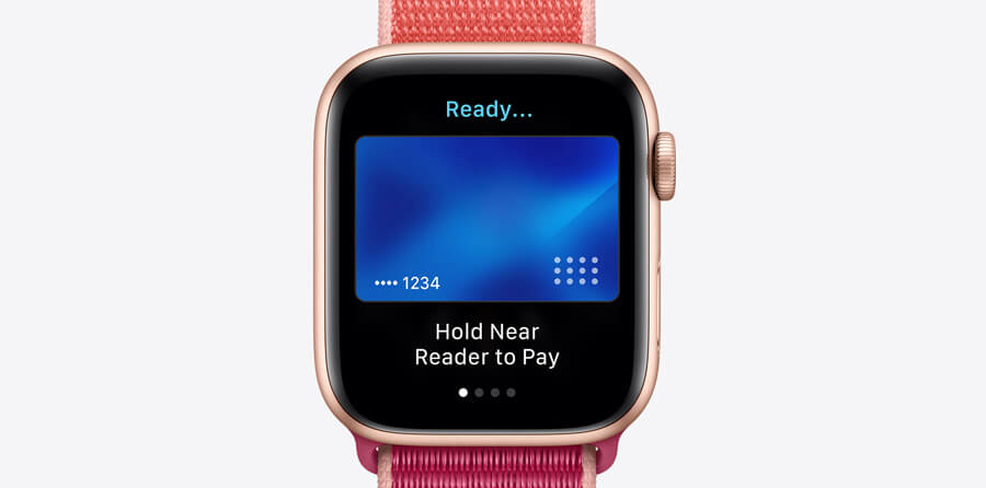 Apple Watch Series 5 - Apple Pay