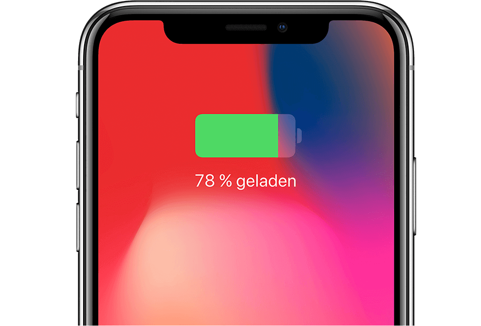 iPhone X – kabelloses Laden