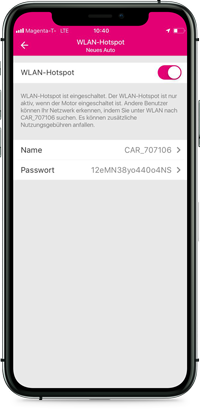 CarConnect WLAN