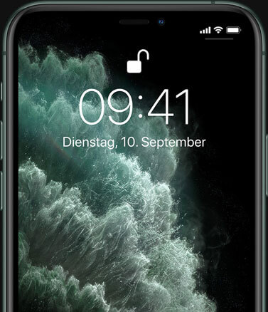 iPhone 11 Pro – Face ID Gesichts­authentifizierung